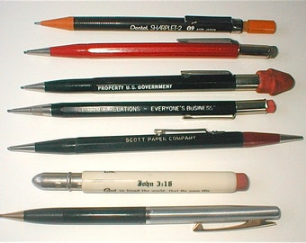 Mechanical Pencil Collection - Purloined Long Ago