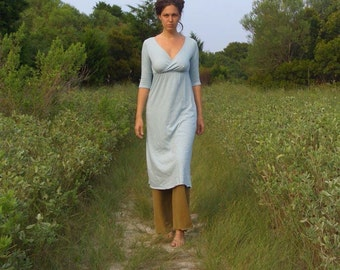 ORGANIC Market Below Knee Dress ( local organic cotton knit ) - organic dress