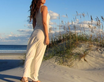 ORGANIC Slip Long Dress ( organic tissue cotton ) - organic cotton dress