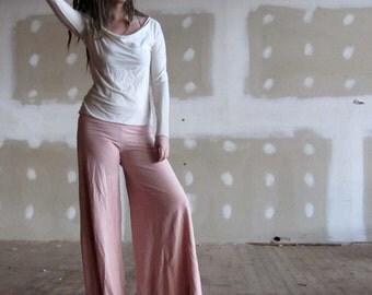 ORGANIC Wanderer Pant - ( light hemp and organic cotton knit ) - organic pants