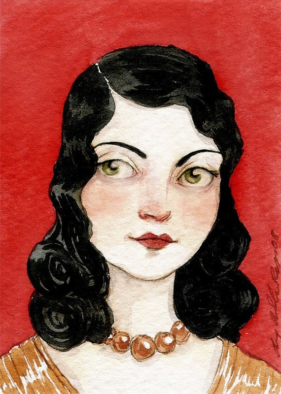 T-N-T -- ACEO Limited Edition Print by Amy Abshier Reyes 8/50