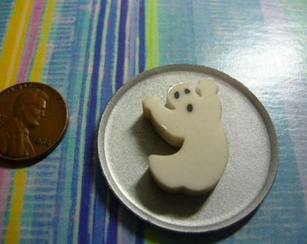 Ghost Cake for Halloween Dollhouse Miniature, Printers Drawer, Doll House 1/12 scale