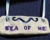 SEA of ME  pendant necklace