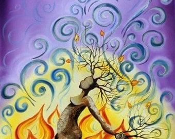 Burn...8x10 fine art print