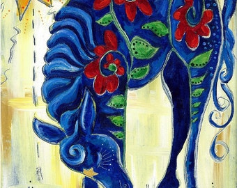 Horse of a Different Color - 8x10 fine art print