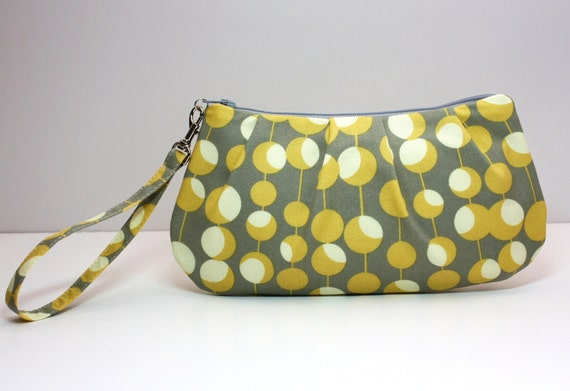 Amy Butler fabric Wristlet
