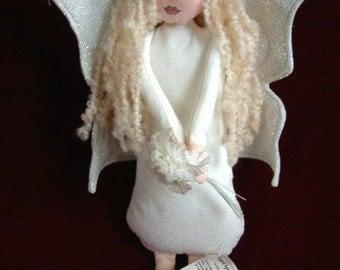 Winged Spirit Wall Hanger Art Doll no. 6