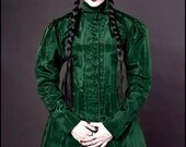 Absinthe Moiré - Isabella Coatdress by Kambriel - custom made for you