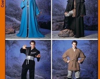 Simplicity Sewing pattern 5840-Cloak,Star Wars, Jedi, Harry Potter, Lord of the Rings Type of Pattern Size xs-xl