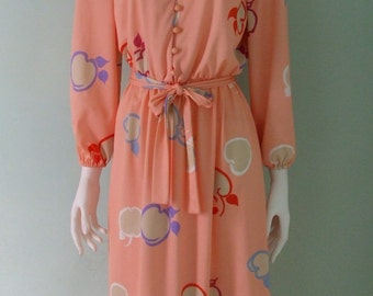 Peachy Keen Secretary  Dress s/m