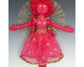 Goldy Star Angel Art Doll