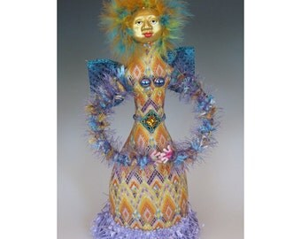 Narantuyaa Angel Art Doll