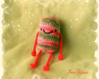 Amigurumi Pink Pill Boy