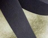 black elastic, 2 1/2 inch wide