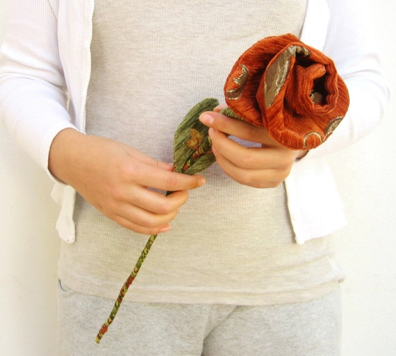 Handsewn Fabric Rose - Pick Your Own