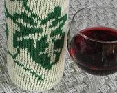 Knit Wine Bottle Cozy