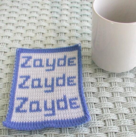 Zayde Knit Mugrug