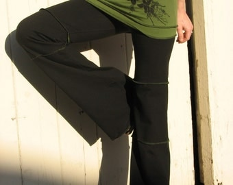 Womens Yoga Pants, Devi Yoga Pants Organic Cotton