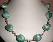 Seafoam Shell Necklace