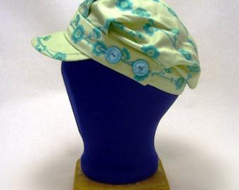 Aqua vine engineer hat