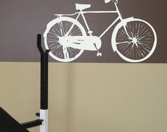 City Bicycle Wall Decal, Bike Decal, Bicycle Wall Decal, Bike Wall Sticker, Bicycle Decor, Bicycle Hobby