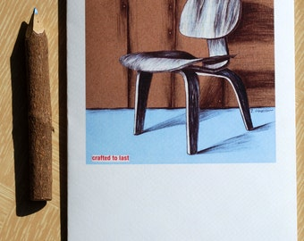 Set of 6 Greeting Cards - The Classic Chair Collection