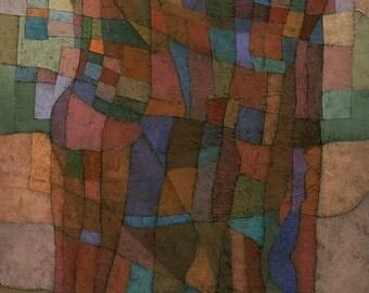 Solace, Original Textured Figure Painting