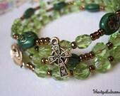 Irish Rosary Bracelet
