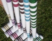 Custom Glittered Vintage Croquet Set for Tanya P