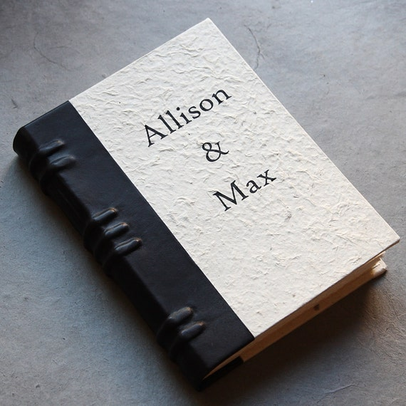 Custom Journal - Personalized with Names, Dates or Quotes on Front Cover