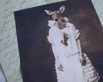 Dear Jane 5x7 Anthropomorphic print
