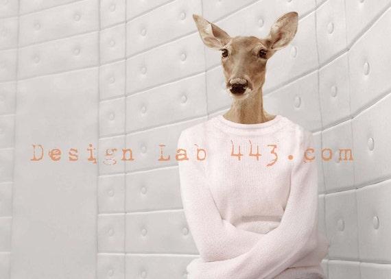 Deer Abby 5x7 print