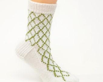 PATTERN ONLY Criss Cross Sock