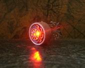 The Hunger Games Inspired Cinna Night Light Ring - Adjustable
