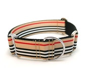 "1.5"" Barkbury wide buckle or martingale dog collar"