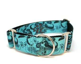 "1.5"" dog collar Hera buckle or martingale collar"