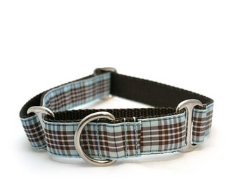 "1"" dog collar Grandpa's Favorite Golf Pants martingale or buckle dog collar"