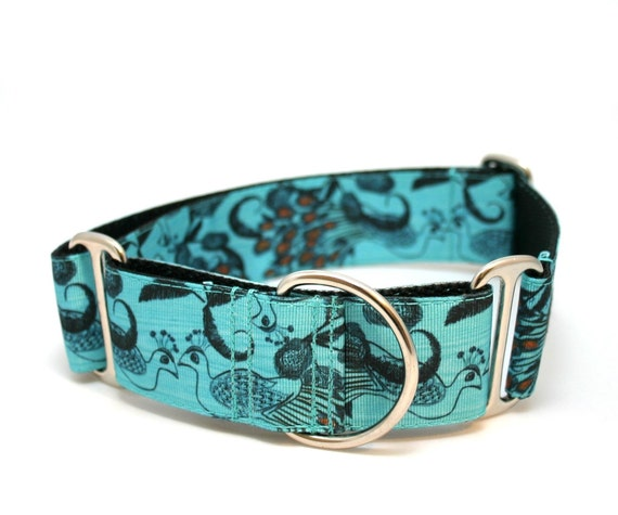 "1.5"" dog collar Hera buckle or martingale collar"