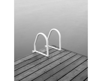 Black and White Art Prints - Beach Art Prints - Minimalist Black and White Photography - Lake House Decor - Muskoka Landscape Photography