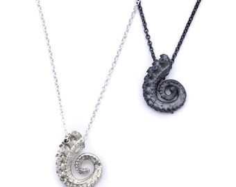Silver Tiny Tentacle Necklace