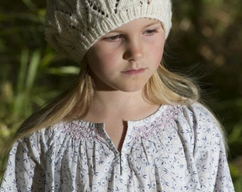 Juliet Hat - Little Cupcakes by lisaFdesign - Download Now - Pattern PDF