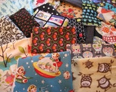 Super Craftin' fun, Fabric Destash, Bag of Designer, Snazzy and Vintage scraps