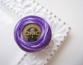 DMC Perle Cotton Thread Size 8 Variegated Violet  52 Lilac, Lavender, Purple