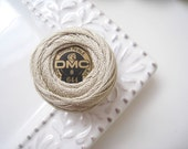 DMC Perle Cotton Thread Size 8 Medium Beige Gray 644