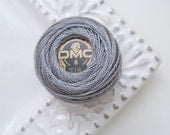 DMC 318 Light Steel Gray Perle Cotton Thread Size 8