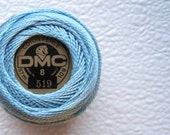 DMC Perle Cotton Thread Size 8  Sky Blue 519