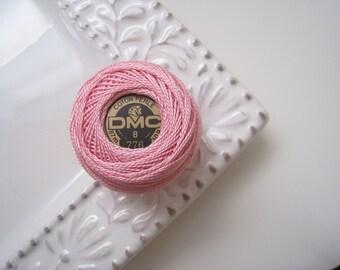 DMC Perle Cotton Thread Size 8 Light Pink 776