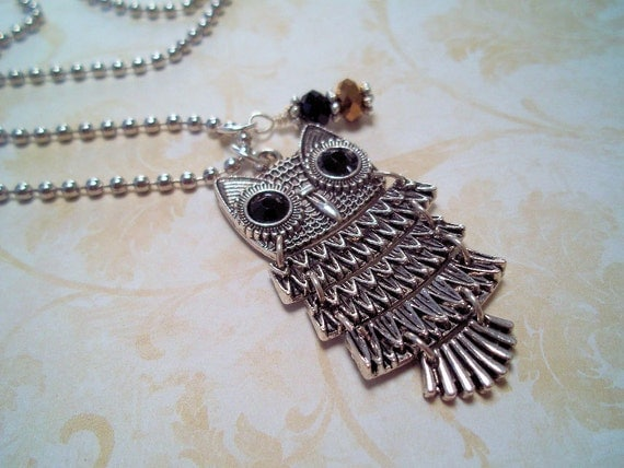 The Owl Necklace