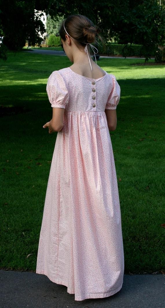 Custom Regency Dress Jane