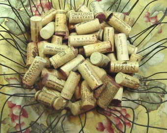 Natural Wine Corks 50 Used PSS 0788